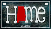 Alabama Home State Outline Wholesale Novelty Motorcycle Plate MP-11992