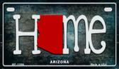 Arizona Home State Outline Wholesale Novelty Motorcycle Plate MP-11994