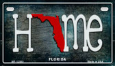 Florida Home State Outline Wholesale Novelty Motorcycle Plate MP-12000