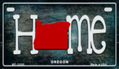 Oregon Home State Outline Wholesale Novelty Motorcycle Plate MP-12028
