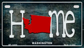Washington Home State Outline Wholesale Novelty Motorcycle Plate MP-12038