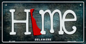 Delaware Home State Outline Wholesale Novelty Bicycle Plate BP-11999