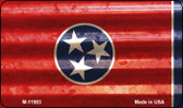 Tennessee Corrugated Flag Wholesale Novelty Magnet M-11983