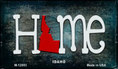 Idaho Home State Outline Wholesale Novelty Magnet M-12003