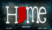 Indiana Home State Outline Wholesale Novelty Magnet M-12005