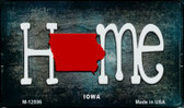 Iowa Home State Outline Wholesale Novelty Magnet M-12006