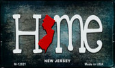 New Jersey Home State Outline Wholesale Novelty Magnet M-12021
