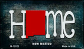 New Mexico Home State Outline Wholesale Novelty Magnet M-12022