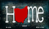 Ohio Home State Outline Wholesale Novelty Magnet M-12026