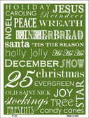 Green Holiday Wrap Pattern Wholesale Metal Novelty Parking Sign P-132