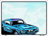 Classic Car Mustang Wholesale Metal Novelty Parking Sign P-351
