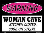 Kitchen Closed Cook On Strike Wholesale Metal Novelty Parking Sign P-755