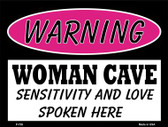 Sensitivity And Love Wholesale Metal Novelty Parking Sign P-759