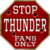 Thunder Fans Only Wholesale Metal Novelty Octagon Stop Sign BS-263