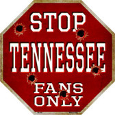 Tennessee Fans Only Wholesale Metal Novelty Octagon Stop Sign BS-328