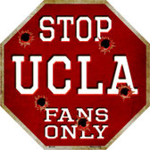 UCLA Fans Only Wholesale Metal Novelty Octagon Stop Sign BS-343
