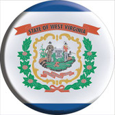 West Virginia State Flag Wholesale Metal Circular Sign