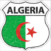 Algeria Country Flag Highway Shield Wholesale Metal Sign