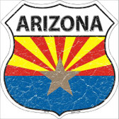 Arizona State Flag Highway Shield Wholesale Metal Sign