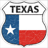 Texas State Flag Highway Shield Wholesale Metal Sign