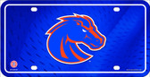 Boise State Deluxe Novelty Wholesale Metal License Plate