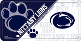 Penn State Deluxe Novelty Wholesale Metal License Plate