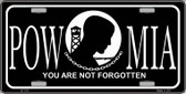 POW-MIA Novelty Wholesale Metal License Plate