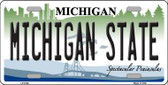 Michigan State Wholesale Metal Novelty License Plate LP-6106