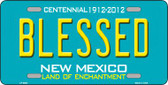 Blessed New Mexico Novelty Wholesale Metal License Plate LP-6682