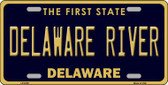 Delaware River Delaware Novelty Wholesale Metal License Plate LP-6709