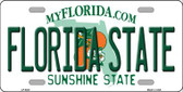 Florida State Novelty Wholesale Metal License Plate LP-6021