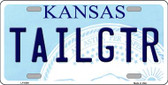 Tailgtr Kansas Novelty Wholesale Metal License Plate LP-6599