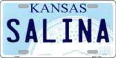Salina Kansas Novelty Wholesale Metal License Plate LP-6611