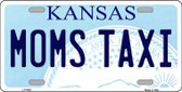 Moms Taxi Kansas Novelty Wholesale Metal License Plate LP-6626
