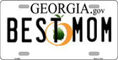 Best Mom Georgia Novelty Wholesale Metal License Plate