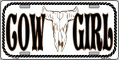 Cowgirl Novelty Wholesale Metal License Plate LP-1294