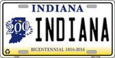 Indiana Novelty Wholesale Metal License Plate