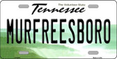 Murfreesboro Tennessee Novelty Wholesale Metal License Plate