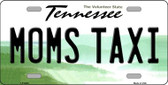 Moms Taxi Tennessee Novelty Wholesale Metal License Plate