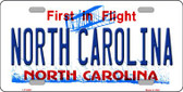 North Carolina Novelty Wholesale Metal License Plate