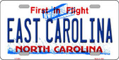 East Carolina North Carolina Novelty Wholesale Metal License Plate