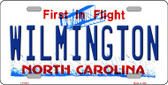 Wilmington North Carolina Novelty Wholesale Metal License Plate