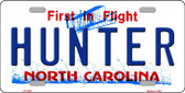 Hunter North Carolina Novelty Wholesale Metal License Plate