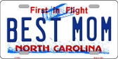 Best Mom North Carolina Novelty Wholesale Metal License Plate