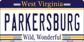 Parkersburg West Virginia Novelty Wholesale Metal License Plate