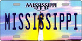 Mississippi Novelty Wholesale Metal License Plate