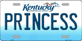 Princess Kentucky Novelty Wholesale Metal License Plate