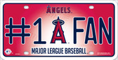 Angels Fan Wholesale Metal Novelty License Plate