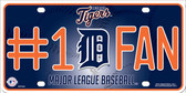 Tigers Fan Wholesale Metal Novelty License Plate