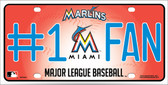 Marlins Fan Wholesale Metal Novelty License Plate